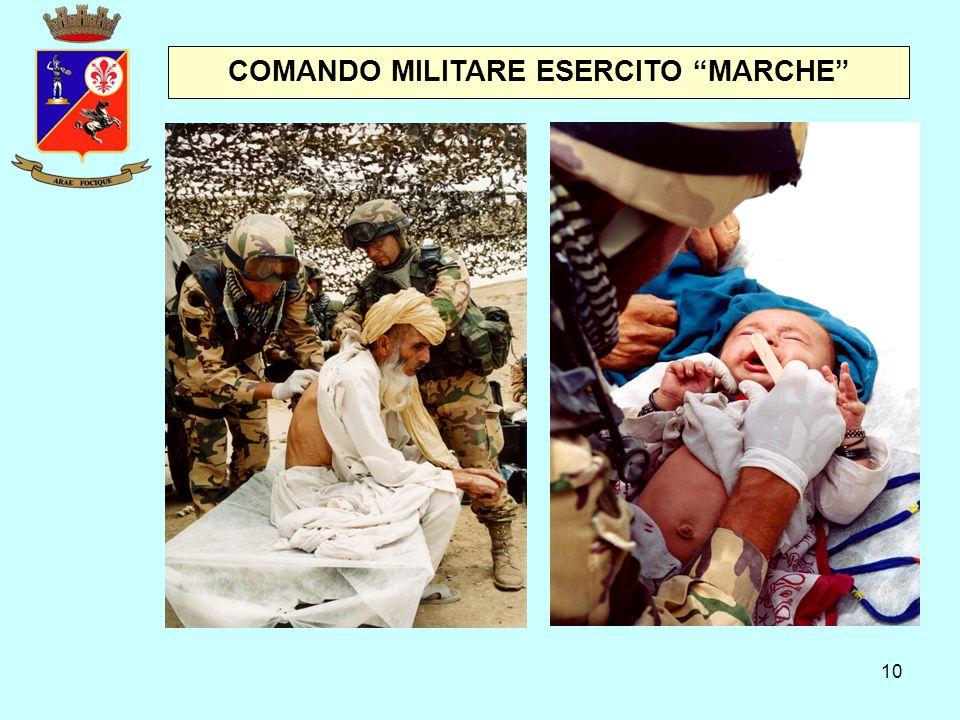 """10 COMANDO MILITARE ESERCITO """"MARCHE"""""""