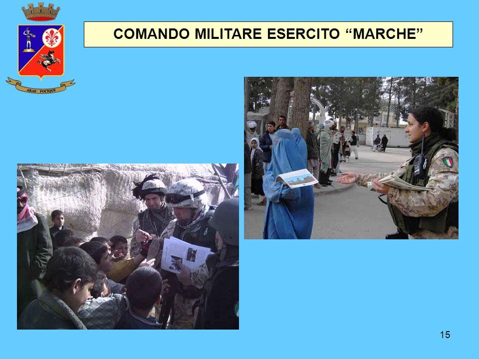 """15 COMANDO MILITARE ESERCITO """"MARCHE"""""""