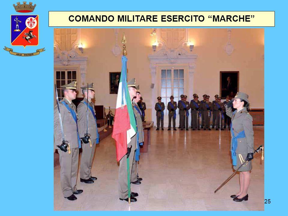 """25 COMANDO MILITARE ESERCITO """"MARCHE"""""""
