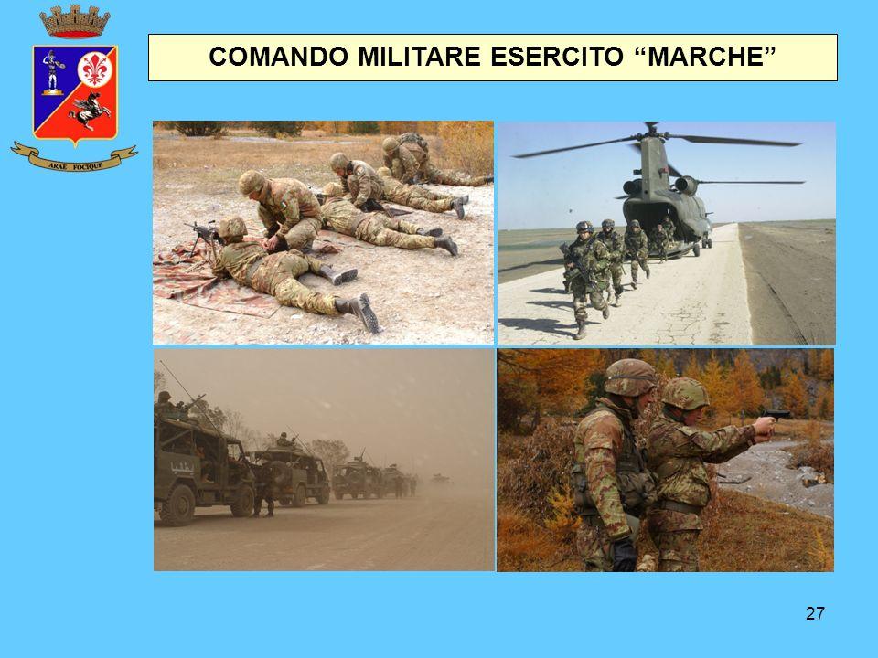"""27 COMANDO MILITARE ESERCITO """"MARCHE"""""""