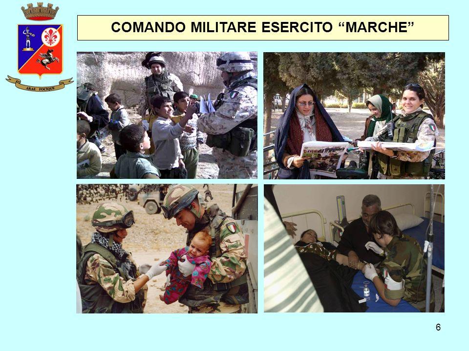 """6 COMANDO MILITARE ESERCITO """"MARCHE"""""""