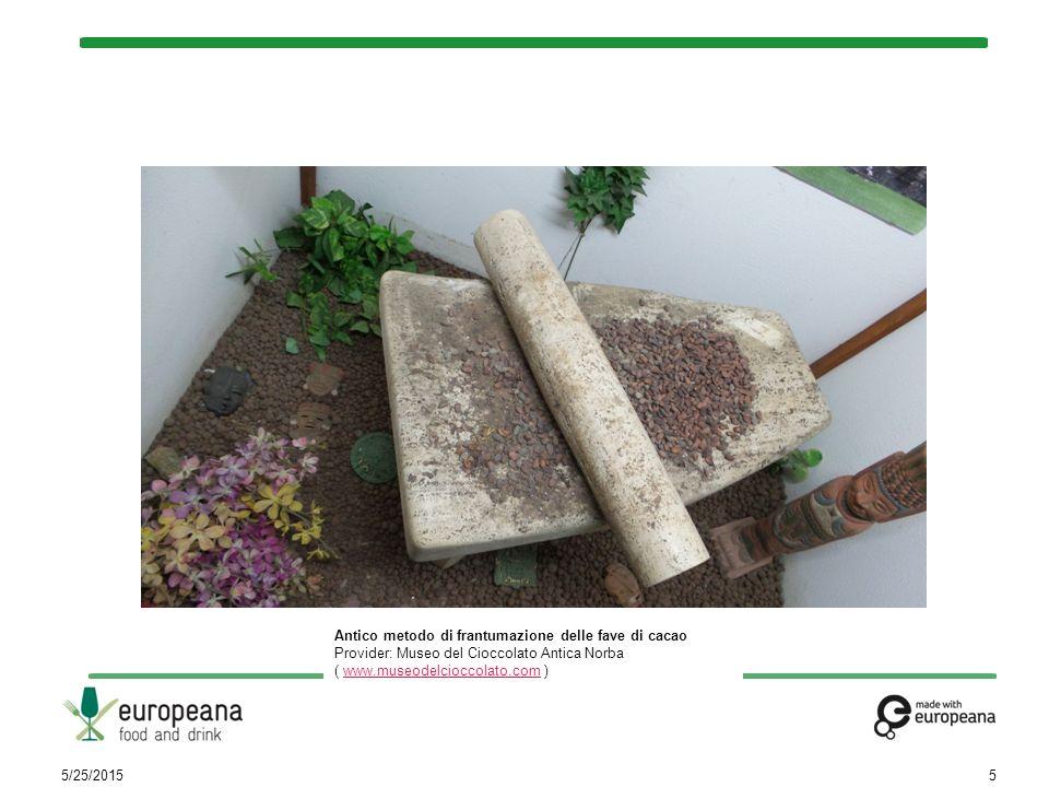 5/25/20156 Cabossa Provider: Museo del Cioccolato Antica Norba ( www.museodelcioccolato.com )www.museodelcioccolato.com