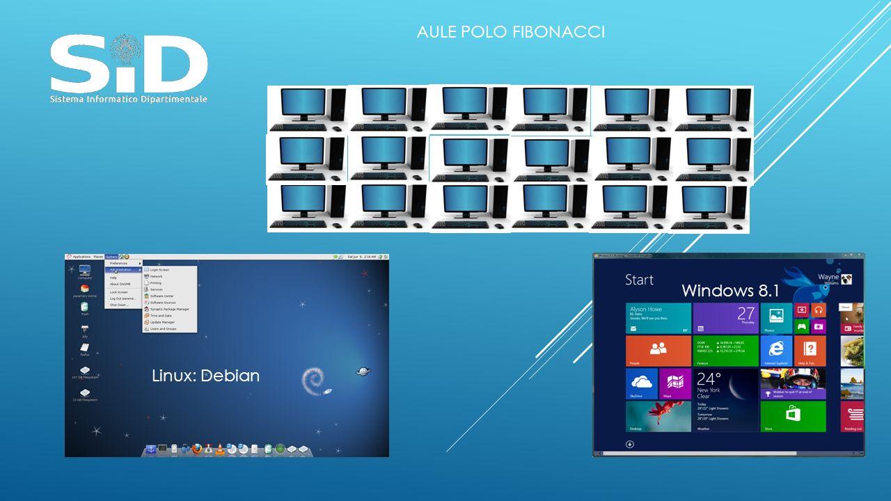 Linux: Debian Windows 8.1 AULE POLO FIBONACCI