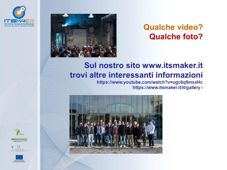 Qualche video? Qualche foto? Sul nostro sito www.itsmaker.it trovi altre interessanti informazioni https://www.youtube.com/watch?v=ugc6q9msxHc https:/