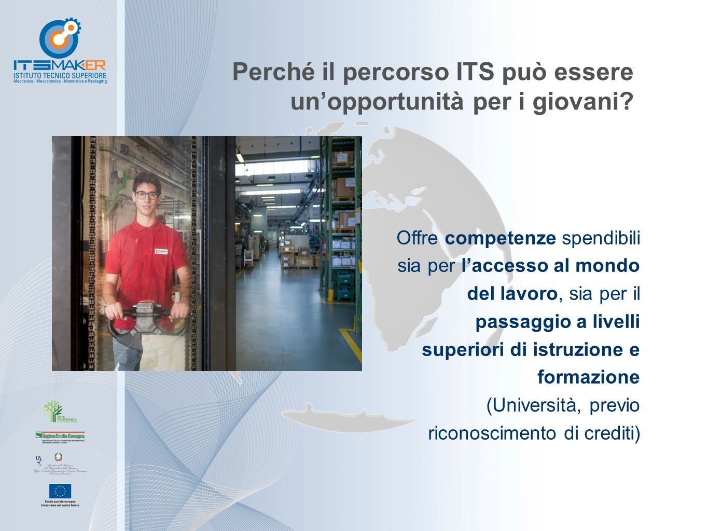 Perché il percorso ITS può essere un'opportunità per i giovani? Offre competenze spendibili sia per l'accesso al mondo del lavoro, sia per il passaggi