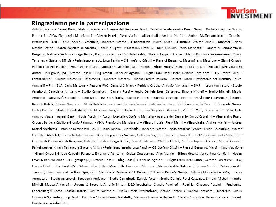 Antonio Mazza - Aareal Bank, Stefano Mantella - Agenzia del Demanio, Guido Castellini – Alessandro Rosso Group, Barbara Casillo e Giorgio Palmucci – A
