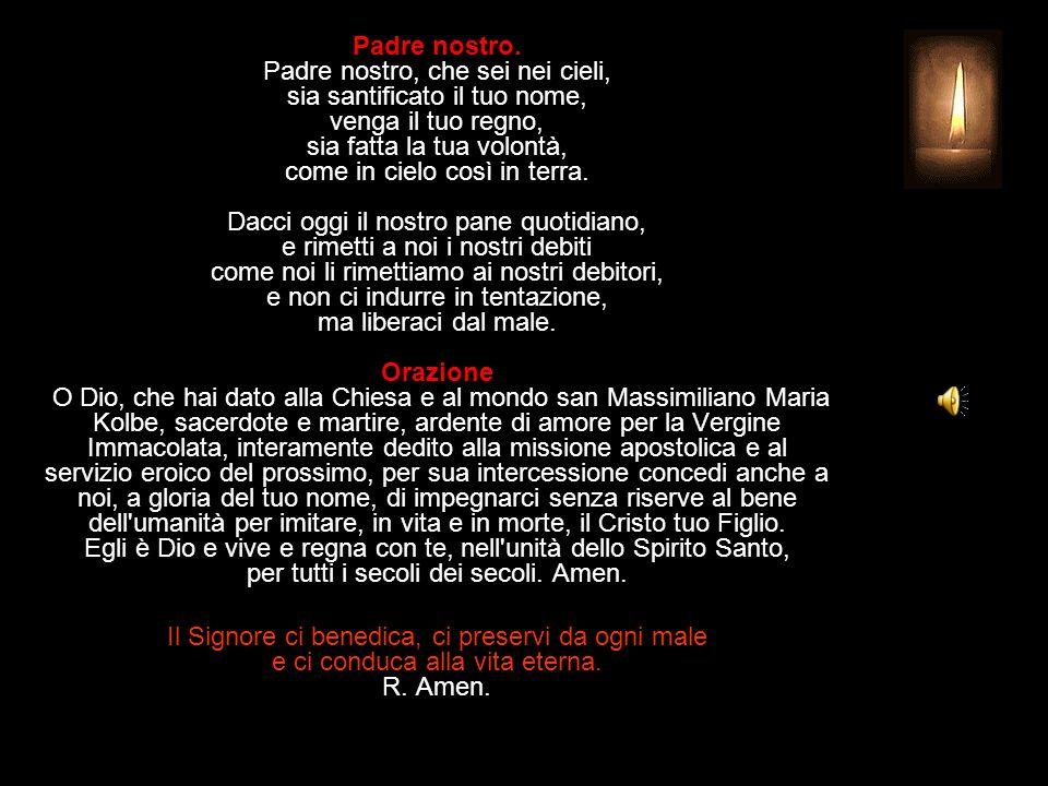 Antifona al Benedictus Cristo sarà glorificato nel mio corpo, sia che io viva sia che io muoia.