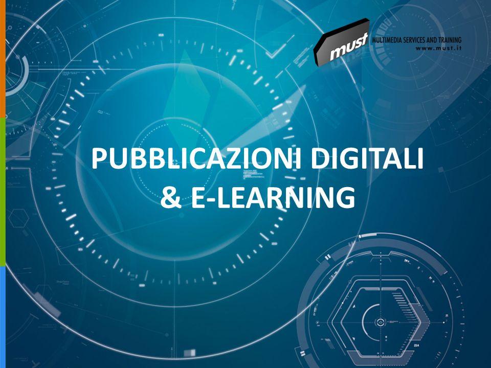PUBBLICAZIONI DIGITALI & E-LEARNING