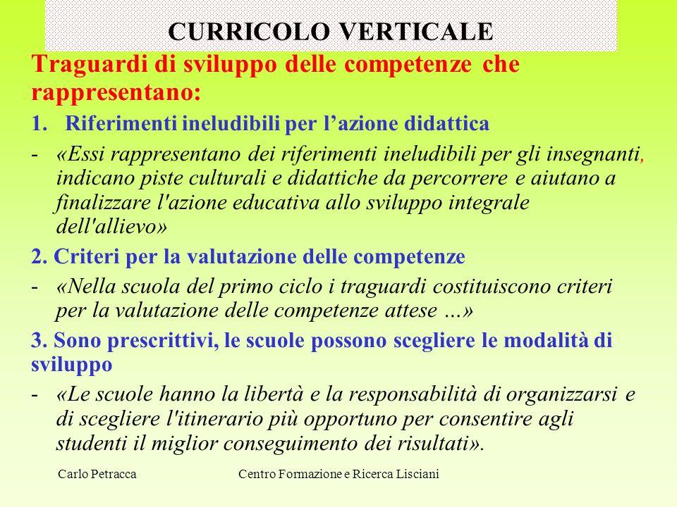 VERIFICA E VALUTAZIONE DELLE COMPETENZE B.