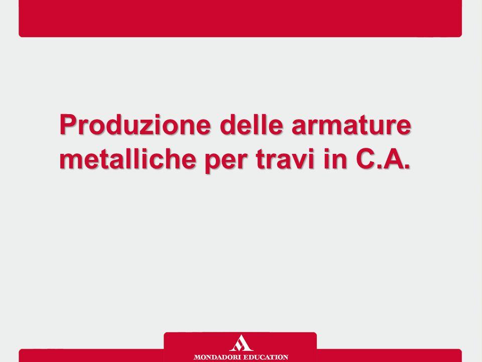 Produzione delle armature metalliche per travi in C.A. Produzione delle armature metalliche per travi in C.A.