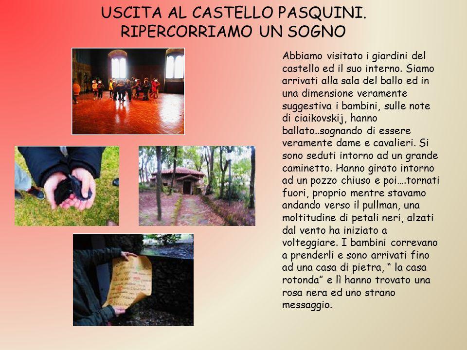 USCITA AL CASTELLO PASQUINI.