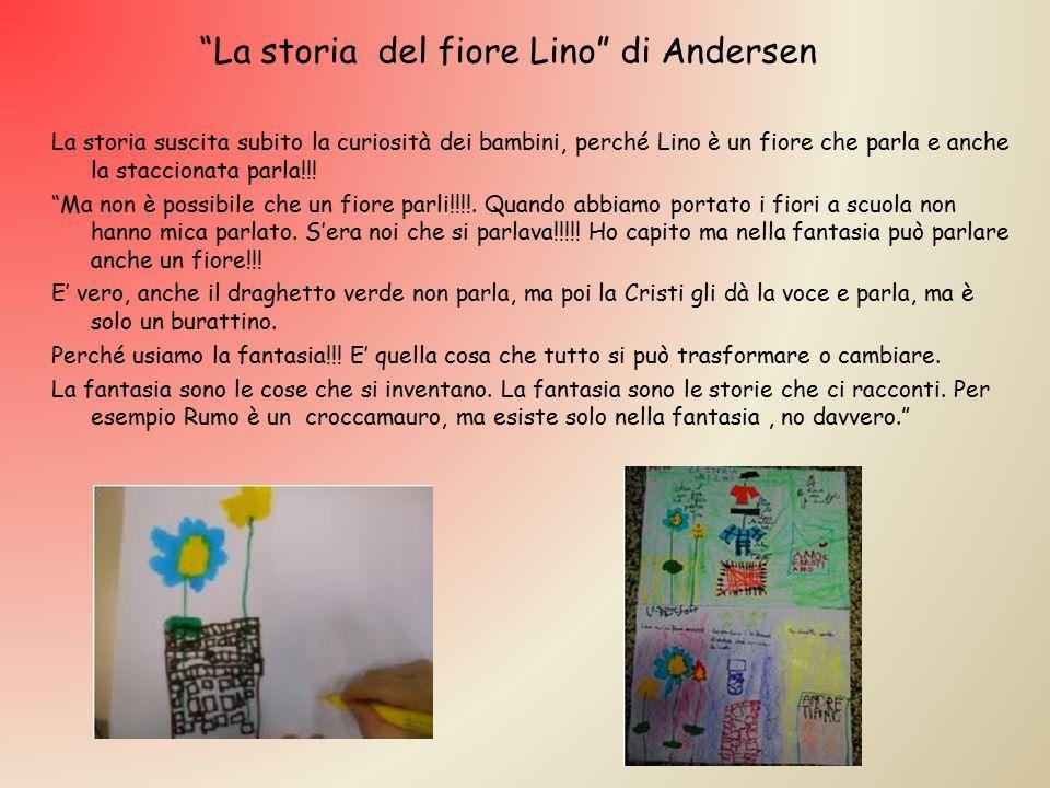 """La storia suscita subito la curiosità dei bambini, perché Lino è un fiore che parla e anche la staccionata parla!!! """"Ma non è possibile che un fiore p"""