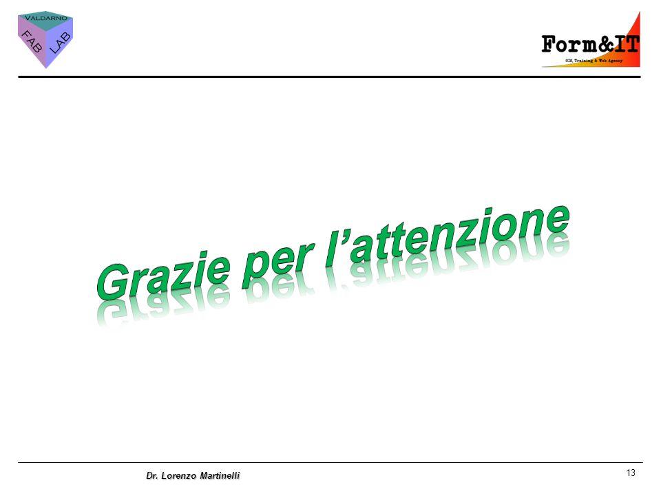 13 Dr. Lorenzo Martinelli