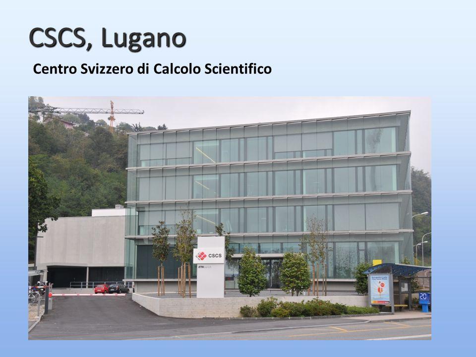 CSCS, Lugano Centro Svizzero di Calcolo Scientifico