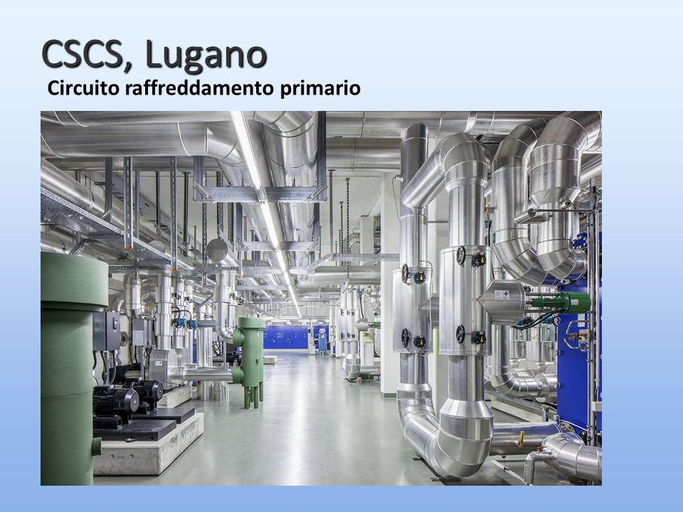 CSCS, Lugano Circuito raffreddamento primario