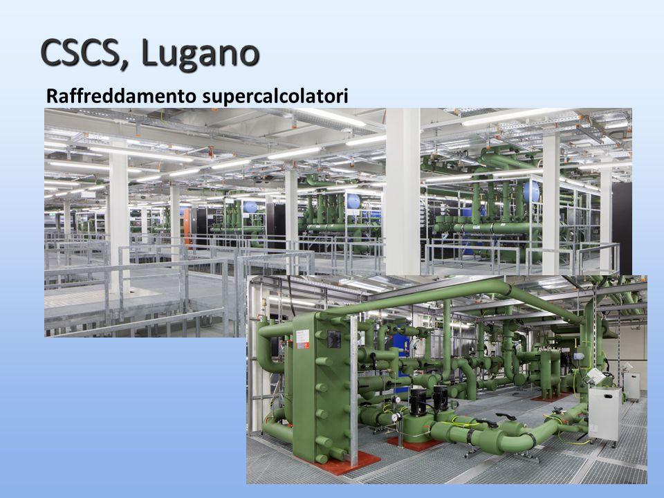 CSCS, Lugano Raffreddamento supercalcolatori