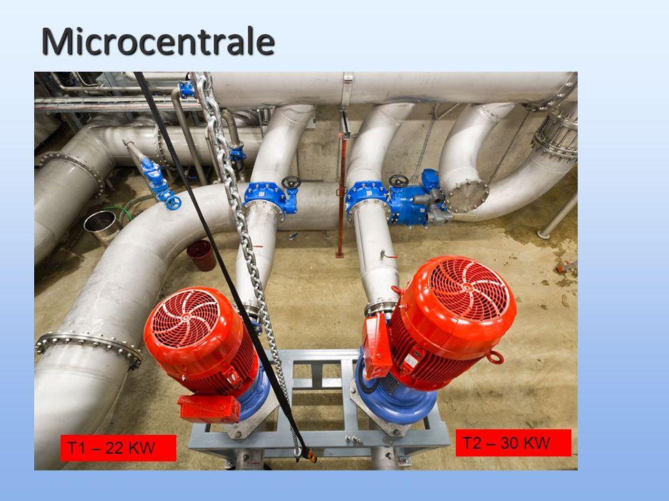 Microcentrale T1 – 22 KW T2 – 30 KW