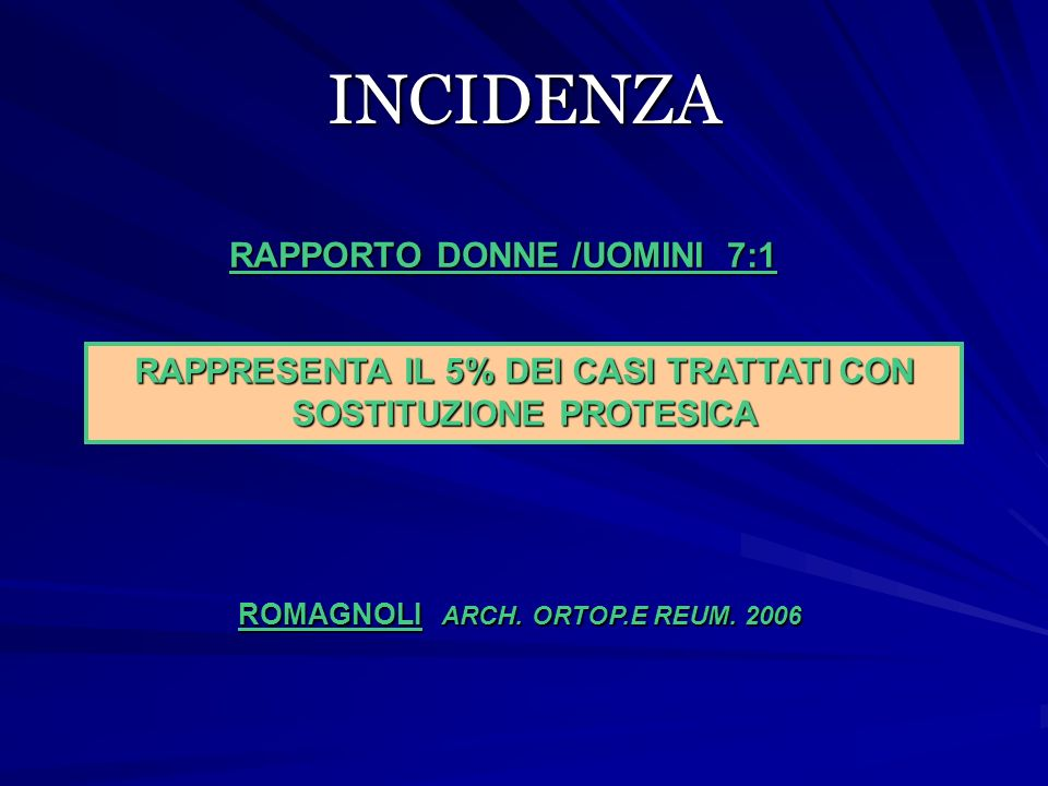 RISULTATI N.di ginocchia follow-up Buoni risultatiBloccoPTG Arciero 365.372 % ?.