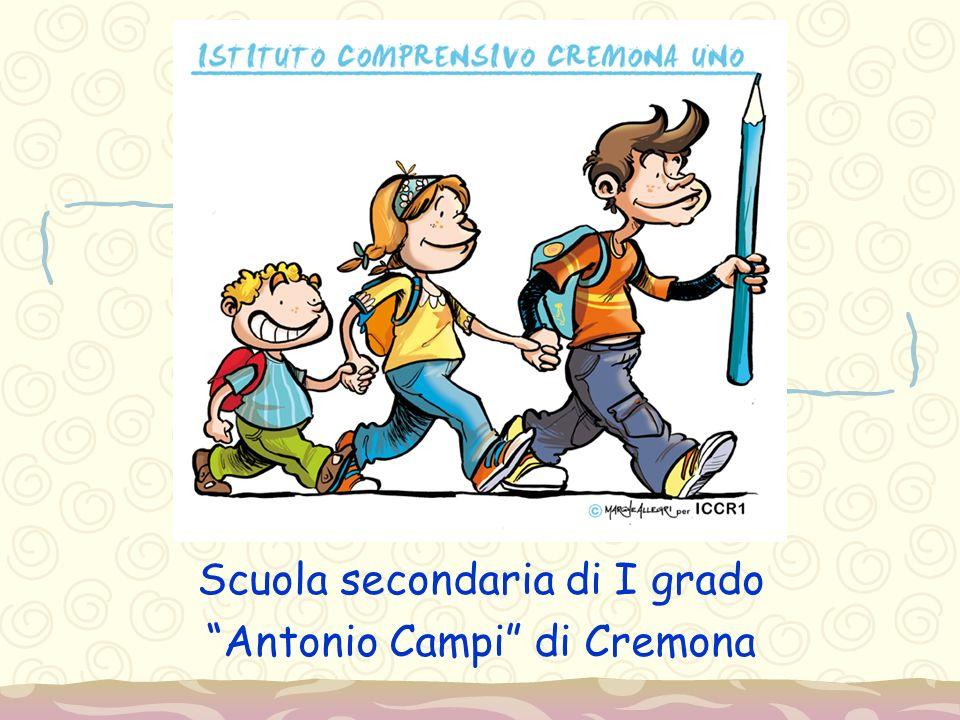 Benvenuti nella nostra scuola Assemblea dei genitori delle ragazze e dei ragazzi che si iscriveranno alla classe prima della scuola secondaria di I grado Antonio Campi nell'anno scolastico 2014- 2015