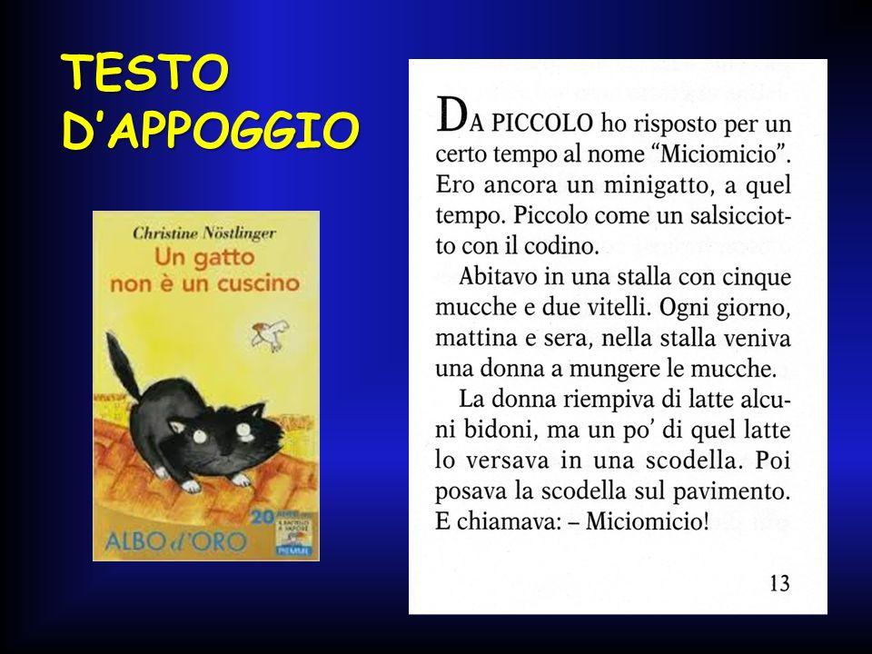 TESTO D'APPOGGIO