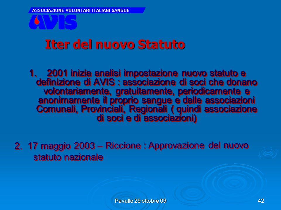 Pavullo 29 ottobre 09 41 Sono cambiate le leggi che governano il volontariato e la sanità pubblica, è cambiata l'organizzazione associativa, sono modi