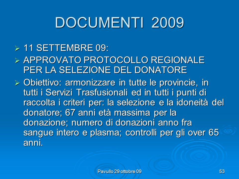 Pavullo 29 ottobre 0952 DOCUMENTI 2008  20 marzo: schema tipo di convenzione e  20 marzo: programma di autosufficienza nazionale ex art.14 comma 2 2