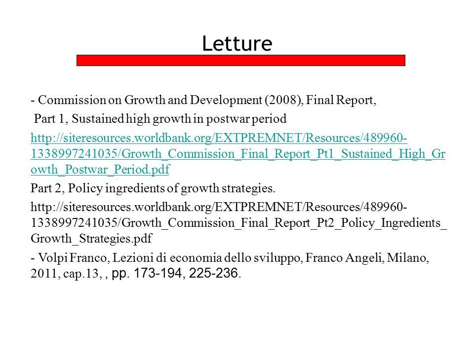 Data la crescita della popolazione ed il progresso tecnico il tasso di crescita del reddito è dato dal capitale.
