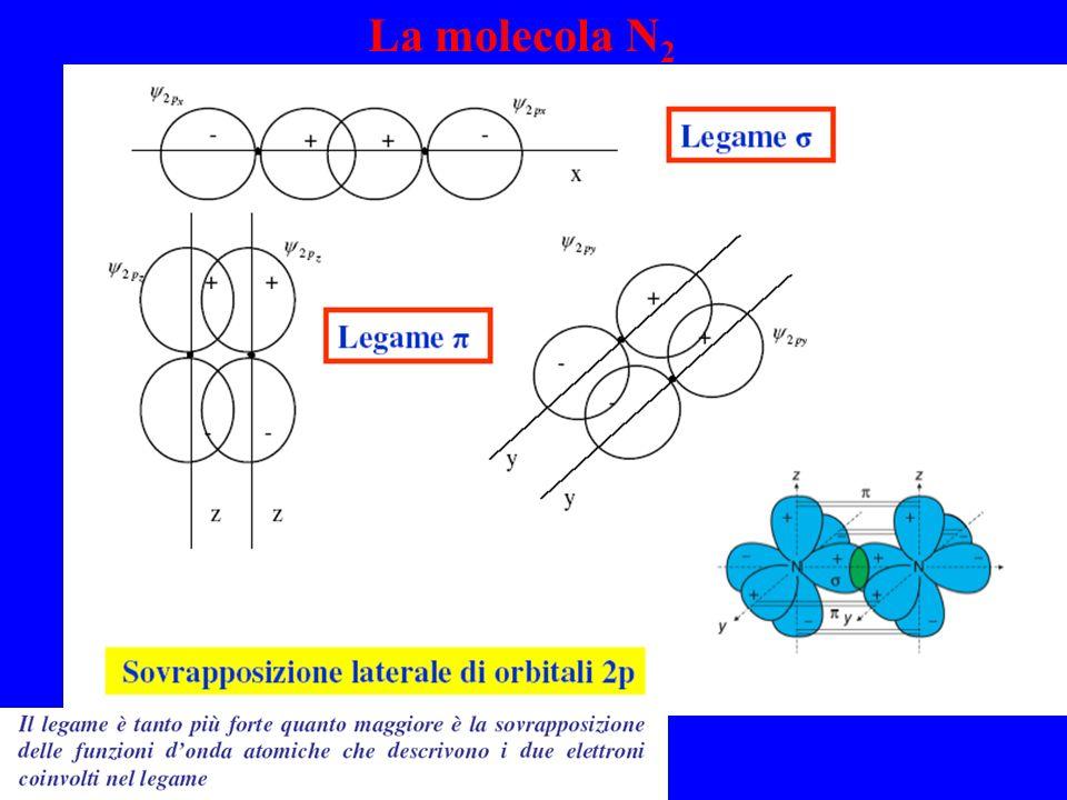 La molecola N 2