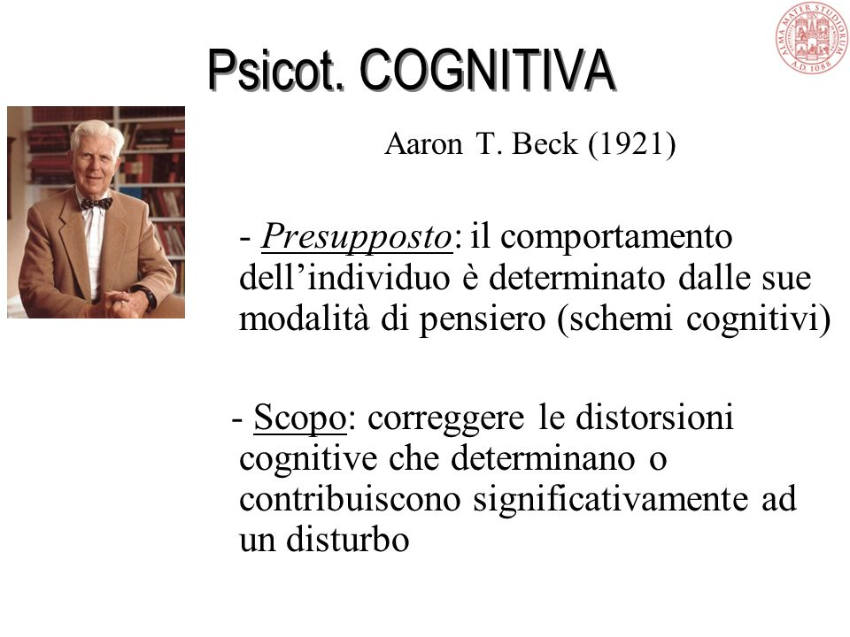 Psicot. COGNITIVA Aaron T.