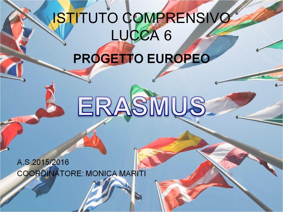 ERASMUS PROGETTO EUROPEO A SUPPORTO DELL'ISTRUZIONE, FORMAZIONE, GIOVENTU' E SPORT OBIETTIVI GENERALI : Sviluppare competenze di base e trasversali con metodi innovativi.