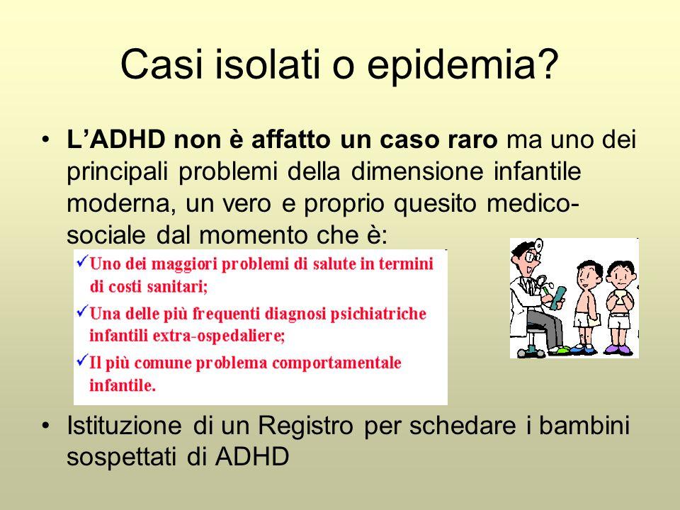Casi isolati o epidemia? L'ADHD non è affatto un caso raro ma uno dei principali problemi della dimensione infantile moderna, un vero e proprio quesit