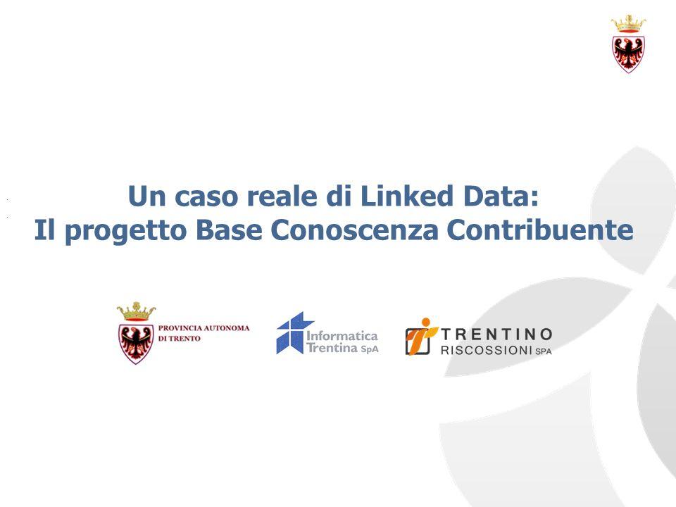 Un caso reale di Linked Data: Il progetto Base Conoscenza Contribuente