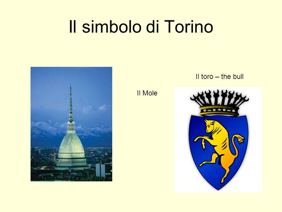 Il simbolo di Torino Il Mole Il toro – the bull