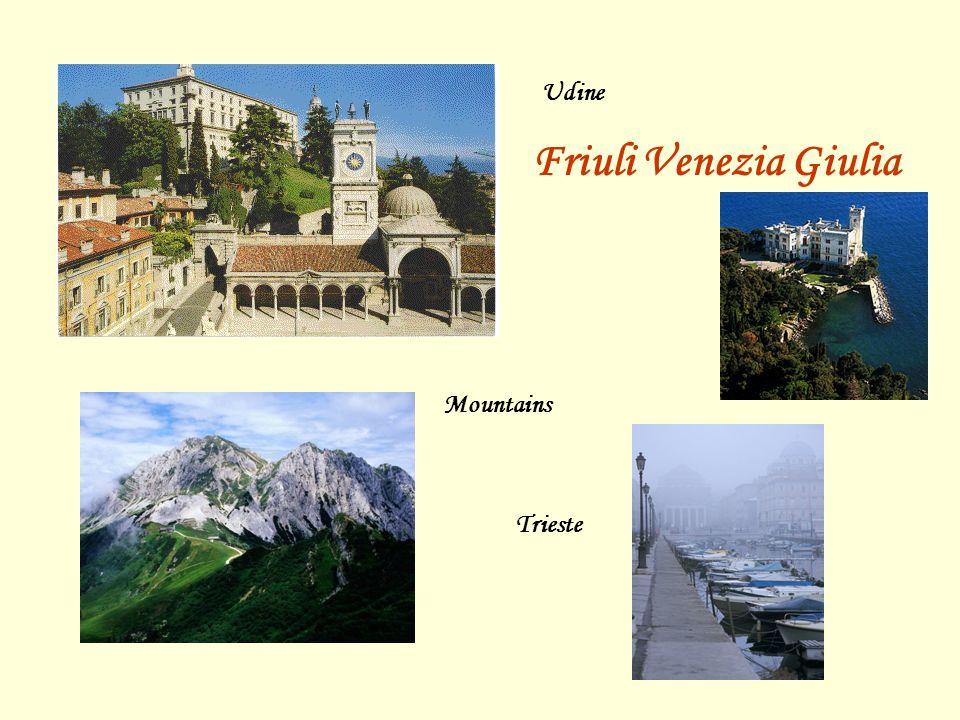 Udine Friuli Venezia Giulia Trieste Mountains