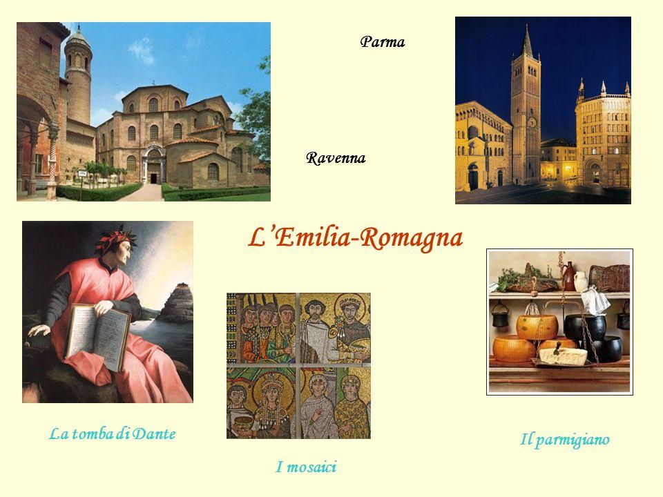 Parma Il parmigiano L'Emilia-Romagna I mosaici Ravenna La tomba di Dante