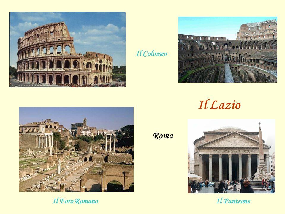 Il Colosseo Il PanteoneIl Foro Romano Roma Il Lazio