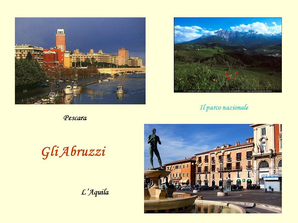 Pescara L'Aquila Gli Abruzzi Il parco nazionale