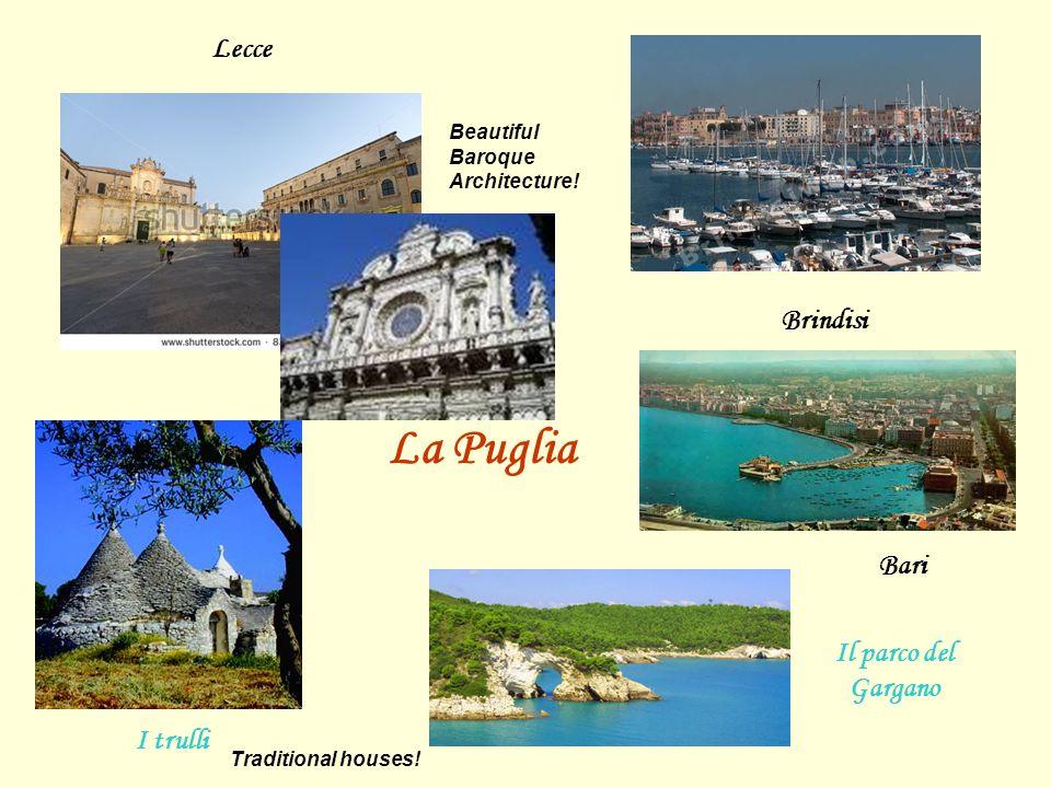 Bari Brindisi Lecce I trulli Il parco del Gargano La Puglia Beautiful Baroque Architecture! Traditional houses!