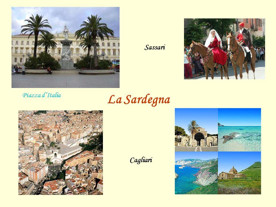 La Sardegna Sassari Piazza d'Italia Cagliari