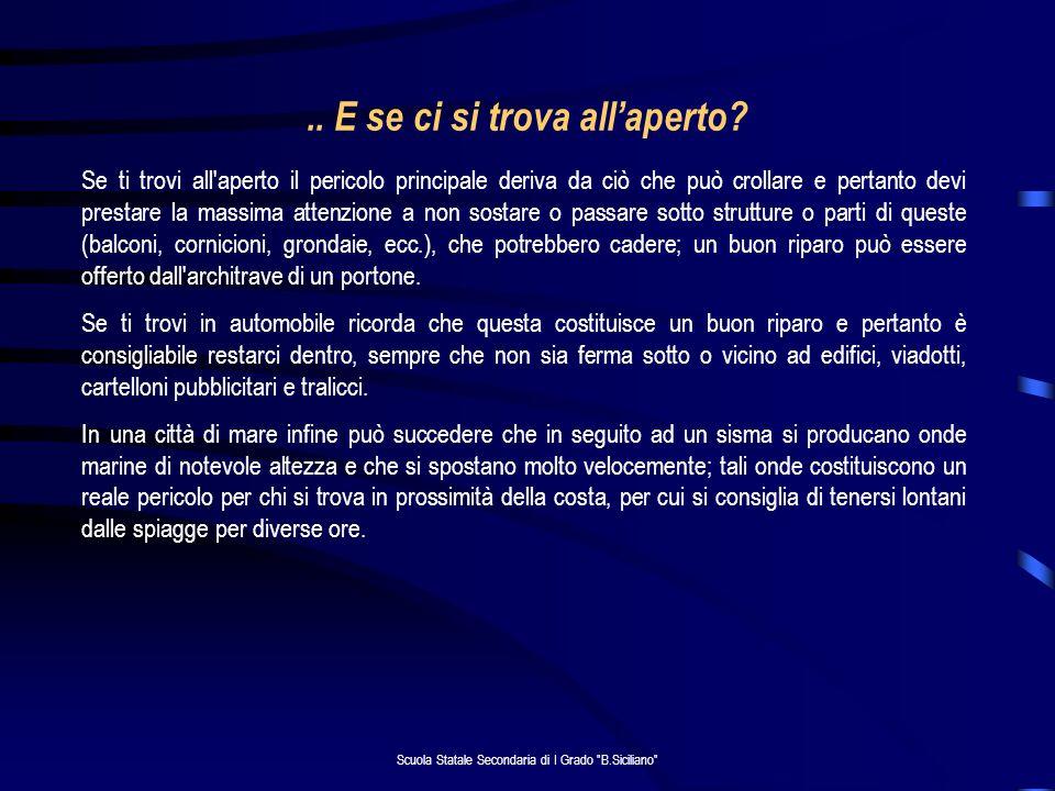 Scuola Statale Secondaria di I Grado B.Siciliano ..