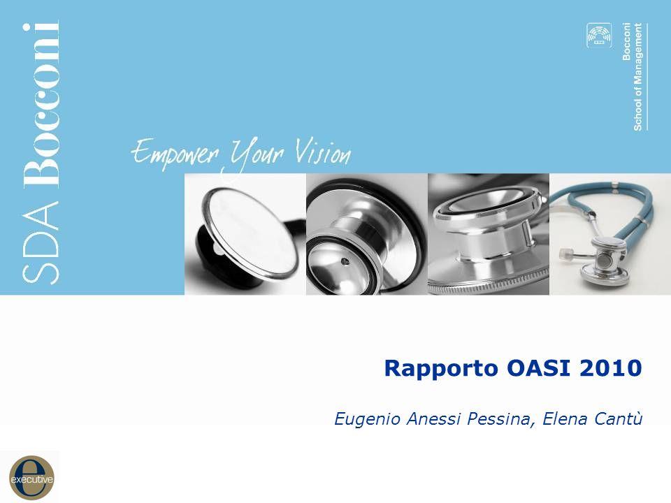11 Rapporto OASI 2010 Eugenio Anessi Pessina, Elena Cantù