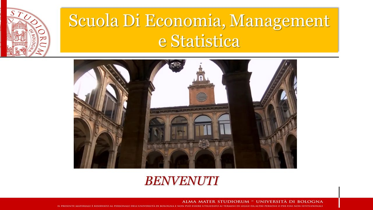 Scuola Di Economia, Management e Statistica UFFICIO TIROCINI DOVE CI TROVATE.