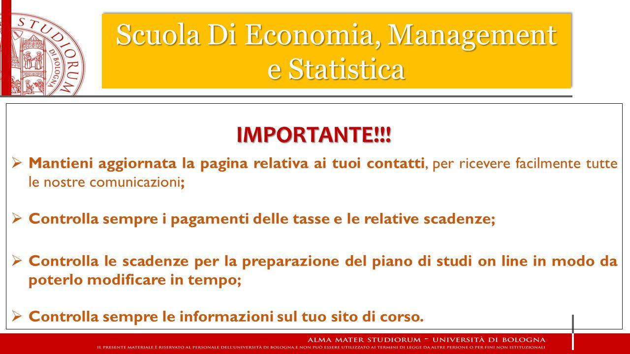 Scuola Di Economia, Management e Statistica