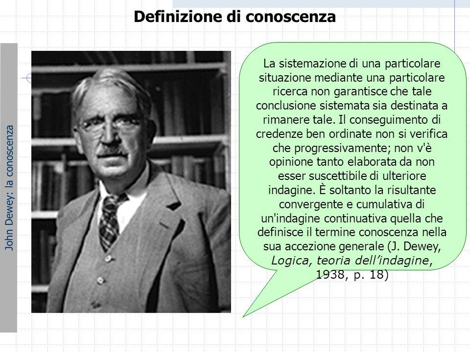 L'esperienza John Dewey: l'esperienza L'esperienza secondo Dewey è una manifestazione di un'interazione dell'organismo con l'ambiente circostante.