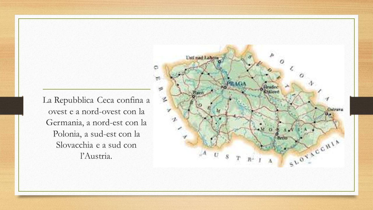 il territorio e il clima Il territorio ceco comprende le due regioni storiche della Boemia a ovest e della Moravia a est.