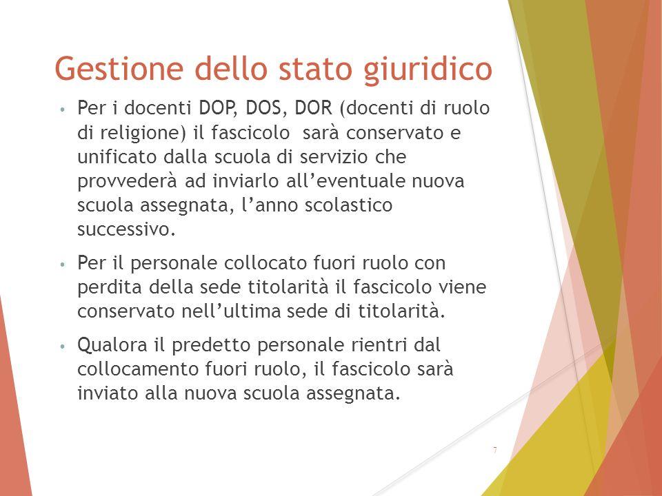 Utilizzo del SIDI riconoscimento servizi personale immesso in ruolo dall'a.sc.