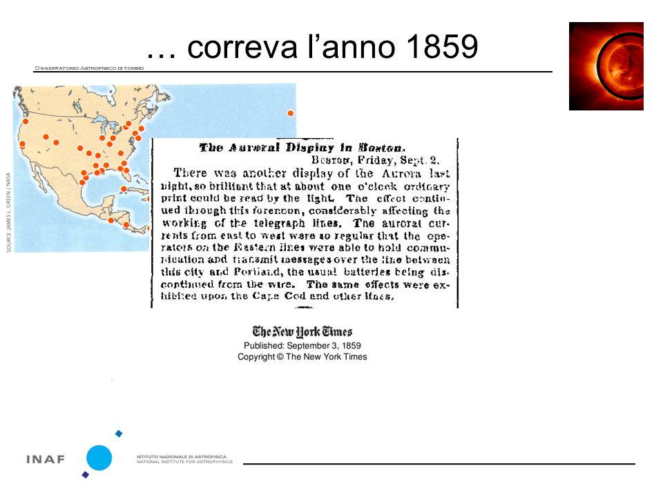 … correva l'anno 1859 Osservatorio Astrofisico di torino