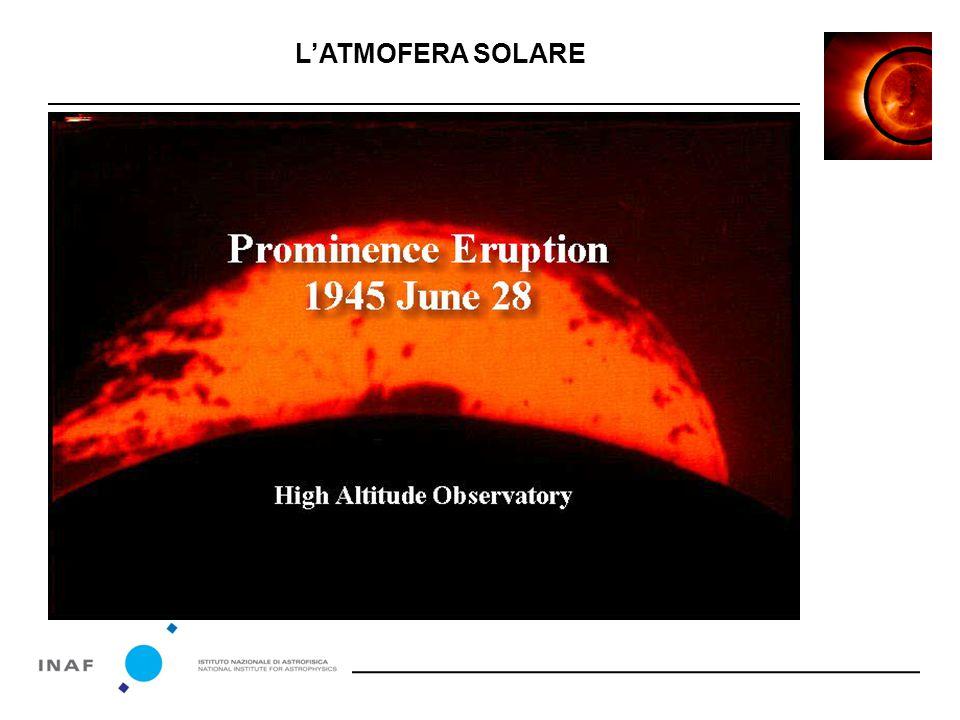 Ma cosa succede quando una tempesta solare investe la Terra ? L'ATMOFERA SOLARE