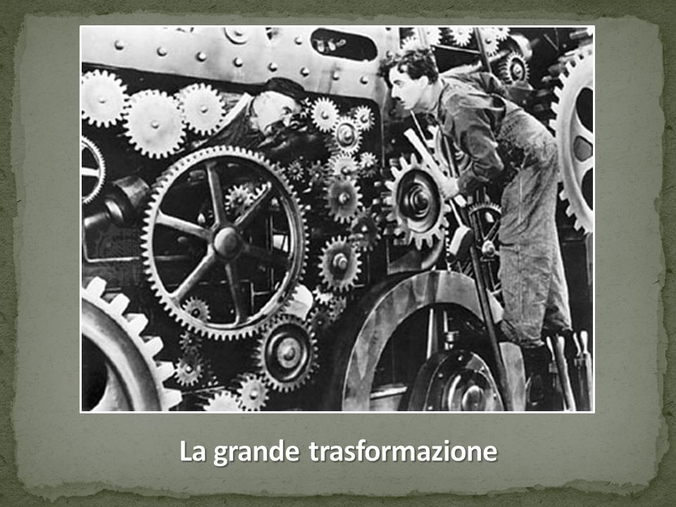 L'industrializzazione della GB e dell'Europa: una rivoluzione.