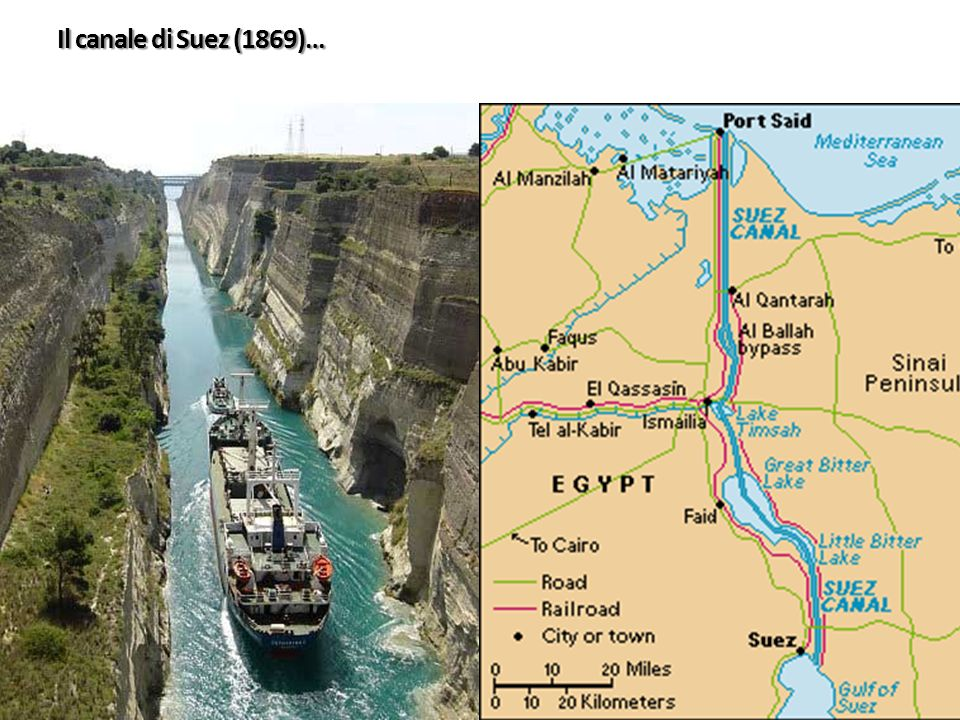 Il canale di Suez (1869)…